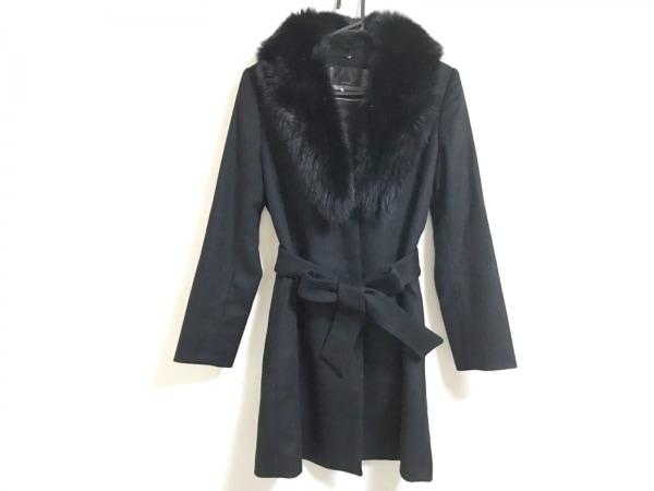 Le souk(ルスーク) コート サイズ36 S レディース美品  黒 冬物/カシミヤ