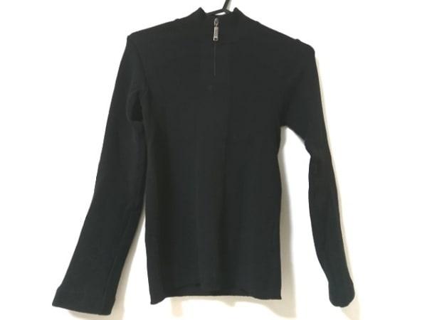 ヴェルサーチジーンズ 長袖セーター サイズS レディース美品  黒