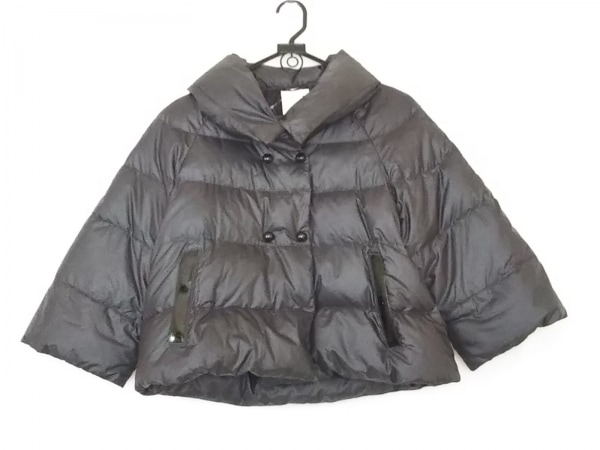 CBY(シービーワイ) ダウンジャケット サイズ42 L レディース 黒 ショート丈/冬物