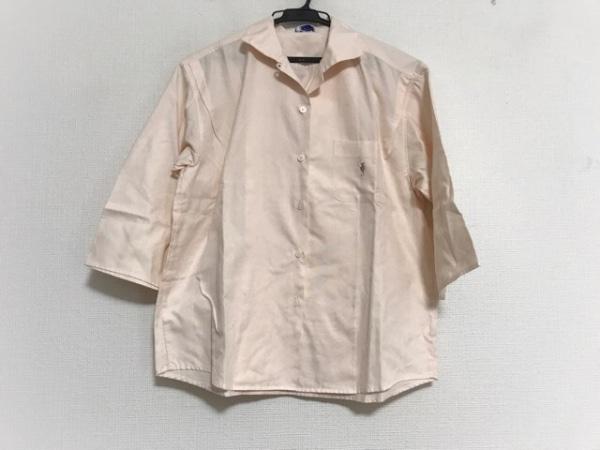FUKUZO(フクゾー) 七分袖シャツブラウス サイズL レディース美品  ライトピンク