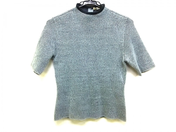 Aquascutum(アクアスキュータム) 半袖セーター サイズ9 M レディース ハイネック