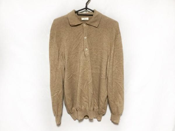 COLOMBO(コロンボ) 長袖セーター メンズ美品  ライトブラウン カシミヤ