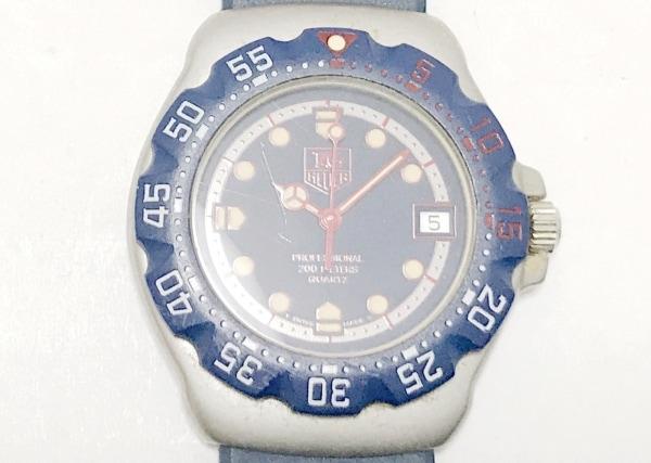 タグホイヤー 腕時計 フォーミュラ1 WA1210 ボーイズ ラバーベルト ダークネイビー