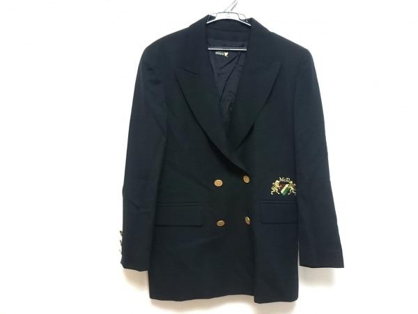 McDavid(マックデイビッド) ジャケット レディース美品  ネイビー 刺繍/ダブル