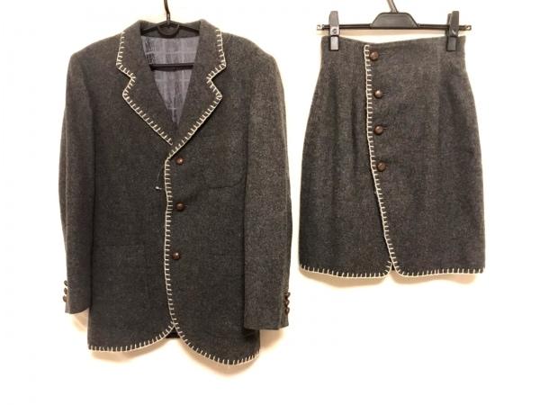 JUNKO SHIMADA(ジュンコシマダ) スカートスーツ サイズ9 M レディース美品  肩パッド