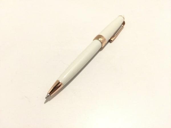 SAILOR(セーラー) ボールペン美品  白×ピンクゴールド インクあり(黒)