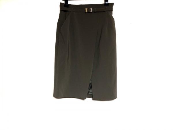 Pinky&Dianne(ピンキー&ダイアン) スカート サイズ38 M レディース美品  カーキ