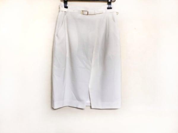Pinky&Dianne(ピンキー&ダイアン) スカート サイズ39 レディース 白