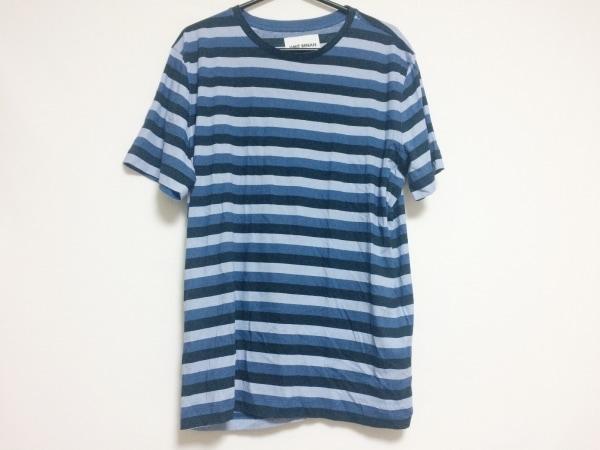 ウミットベナン 半袖Tシャツ サイズM メンズ ネイビー×黒×ライトブルー ボーダー