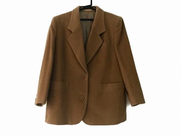バーバリーズ コート サイズ17 XL レディース美品  ライトブラウン 肩パッド/冬物