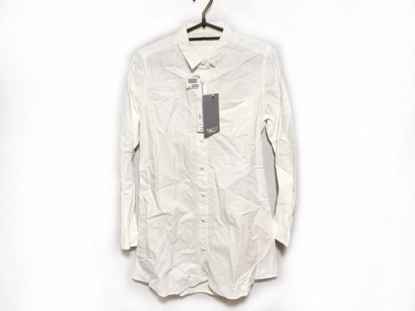 ホワイトマウンテニアリング ワンピース レディース 白 シャツワンピ/刺繍