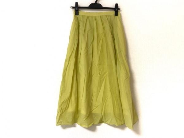 JUSGLITTY(ジャスグリッティー) ロングスカート サイズ2 M レディース美品  イエロー