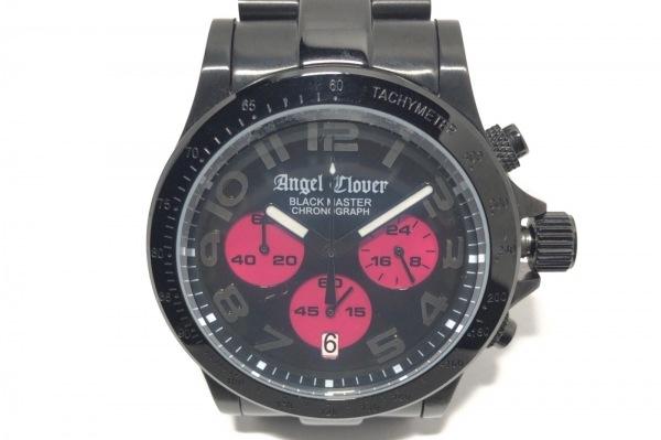 Angel Clover(エンジェルクローバー) 腕時計 BM41 メンズ トリプルカレンダー 黒