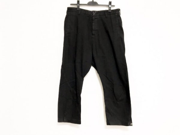 ISAMUKATAYAMA BACKLASH(イサムカタヤマ バックラッシュ) パンツ サイズM メンズ 黒