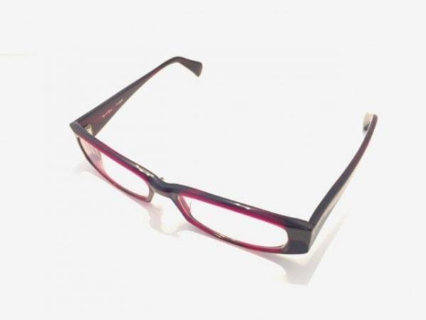YIN&YANG(イン&ヤン) メガネ美品  YY-9002 ボルドー×クリア 度入り プラスチック