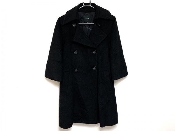 allureville(アルアバイル) コート サイズ2 M レディース 黒 冬物