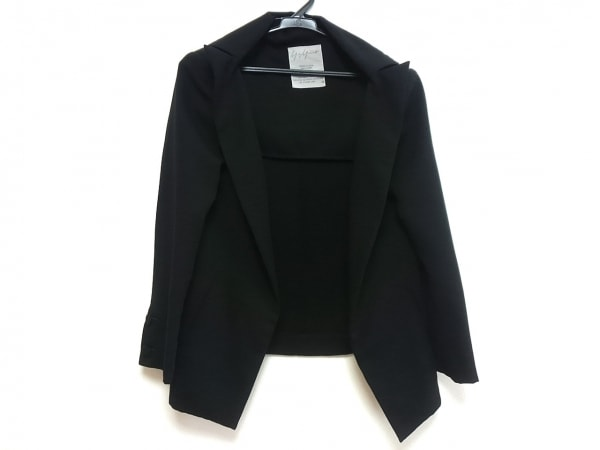 yohjiyamamoto(ヨウジヤマモト) ジャケット サイズXS レディース美品  黒