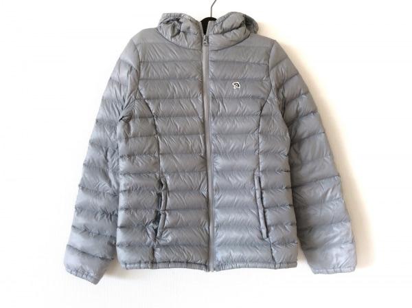 アーノルドパーマー ダウンジャケット サイズ3 L レディース グレー 冬物