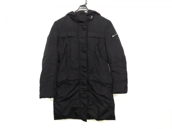 ピューテリー ダウンコート サイズ40 M レディース美品  CHALLENGE SK(チャレンジ) 黒