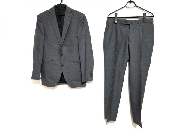 パーソンズ シングルスーツ サイズYA5 メンズ ダークグレー PERSON'S FOR MEN