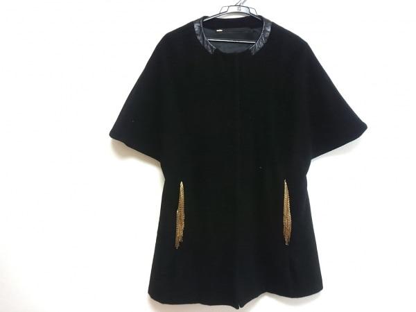 muller of yoshiokubo(ミュラーオブヨシオクボ) コート レディース 黒×ゴールド 冬物