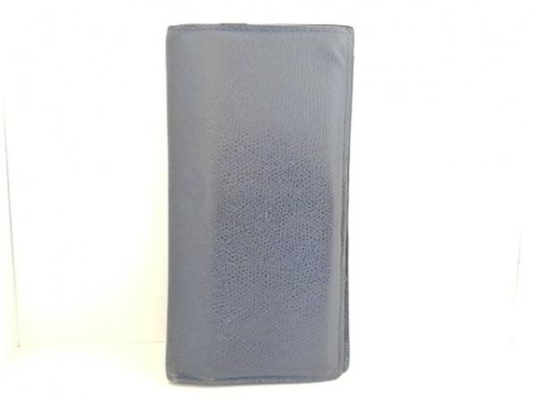 Valextra(ヴァレクストラ) カードケース ブルー レザー