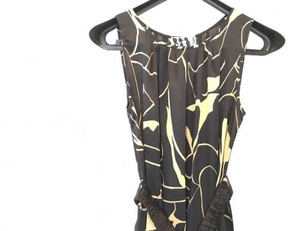 iBlues(イブルース) ワンピース サイズ38 M レディース美品  黒×ベージュ dress