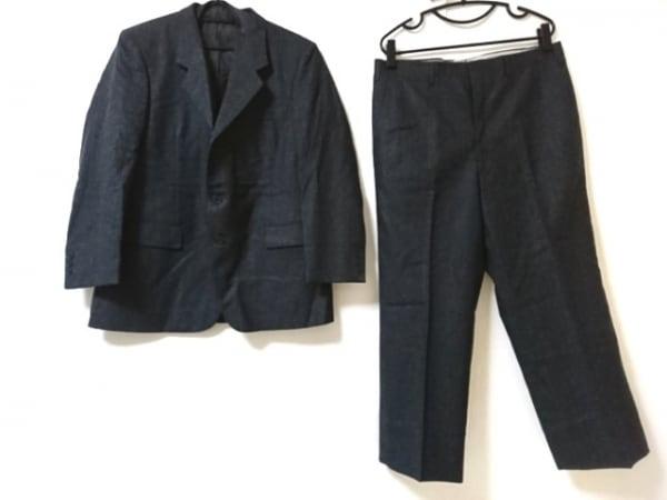 LONNER(ロンナー) シングルスーツ サイズ46 XL メンズ美品  ダークグレー
