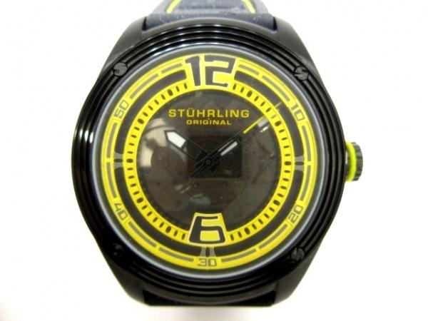 STUHRLING ORIGINAL(ストゥーリングオリジナル) 腕時計 - ST-90050 メンズ クリア