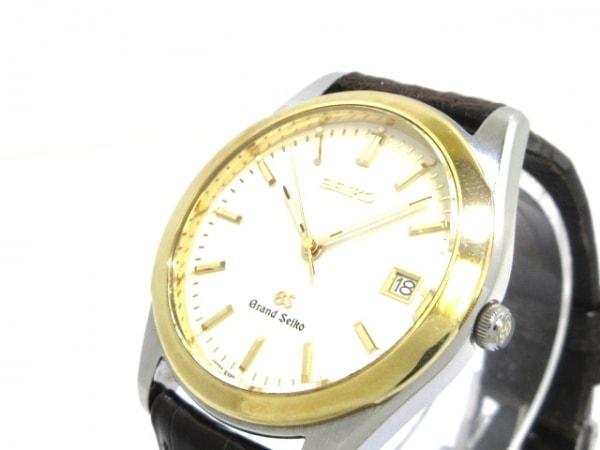 GrandSeiko(グランドセイコー) 腕時計 8N65-8000 メンズ アイボリー