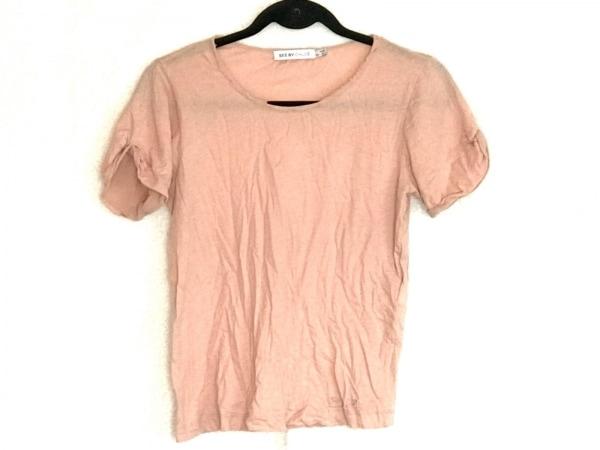 SEE BY CHLOE(シーバイクロエ) 半袖Tシャツ レディース ピンク