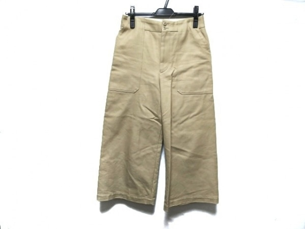 SCYE(サイ) パンツ サイズ38 M レディース美品  ベージュ