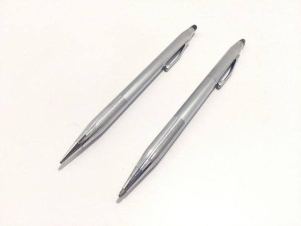 CROSS(クロス.) ペン シルバー ボールペン、シャープペンセット 金属素材