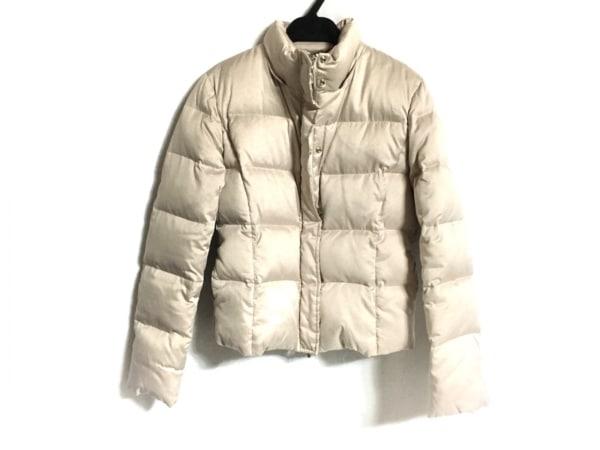 ef-de(エフデ) ダウンジャケット サイズ7 S レディース ベージュ 冬物