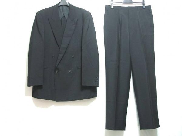 Burberry's(バーバリーズ) ダブルスーツ サイズ38 M メンズ 黒 ネーム刺繍