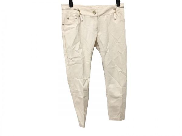 ELISABETTA FRANCHI(エリザベッタフランキ) パンツ サイズ40 M レディース アイボリー