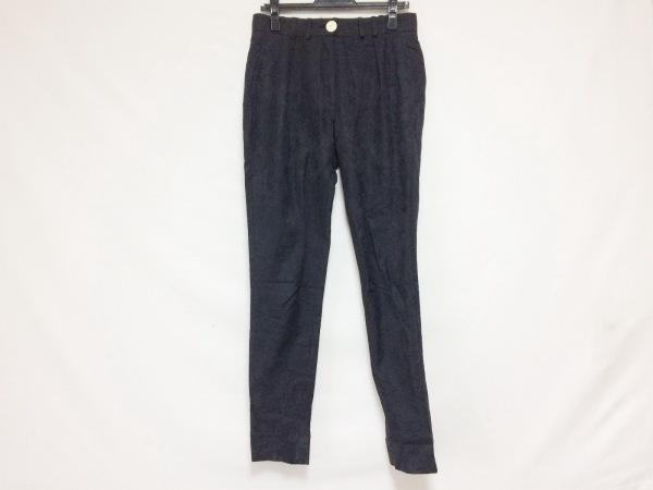 Devastee(ディバステ) パンツ サイズ38 M レディース美品  黒 花柄