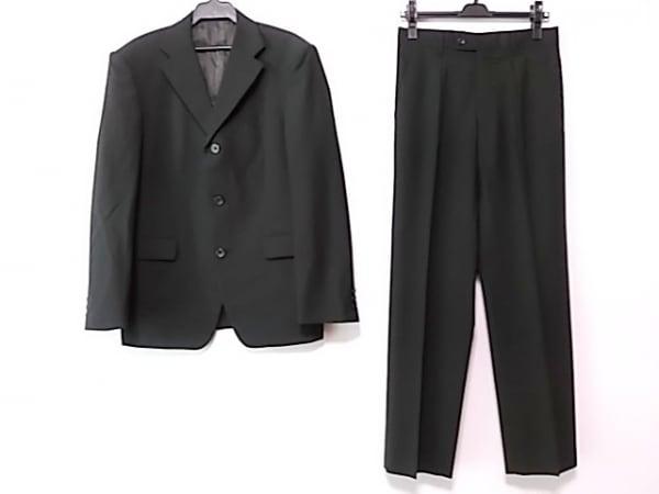 NICOLE CLUB(ニコルクラブ) シングルスーツ サイズ46 XL メンズ 黒