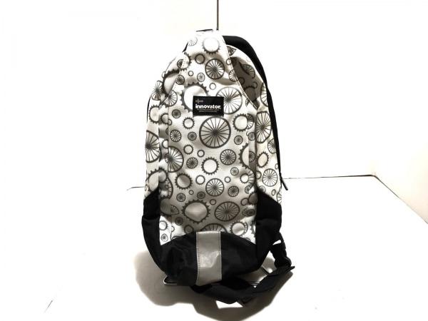 innovator(イノベーター) ワンショルダーバッグ 白×黒×グレー ナイロン