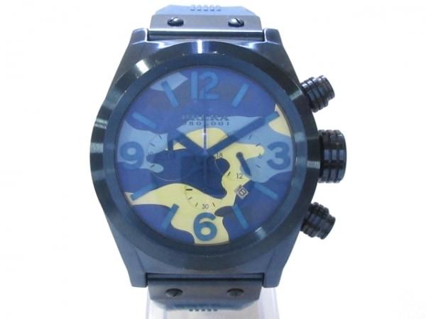 ブレラオロロジ 腕時計 AC12/BRETC45 - メンズ ネイビー×ライトブルー×アイボリー