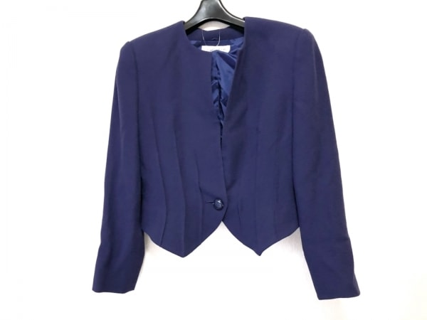 JUN ASHIDA(ジュンアシダ) ジャケット サイズ9 M レディース美品  パープル 肩パッド