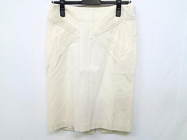 CITRUS NOTES(シトラスノーツ) スカート サイズ40 M レディース アイボリー ラメ