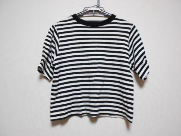 オープニングセレモニー 半袖カットソー サイズOS レディース 黒×白