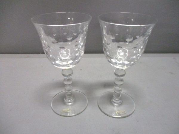 SAINT LOUIS(サンルイ) ペアグラス新品同様  クリア ワイングラス×2 ガラス