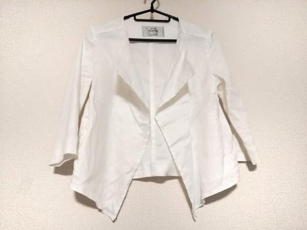 Spick&Span Noble(スピック&スパン ノーブル) ジャケット サイズ36 S レディース 白
