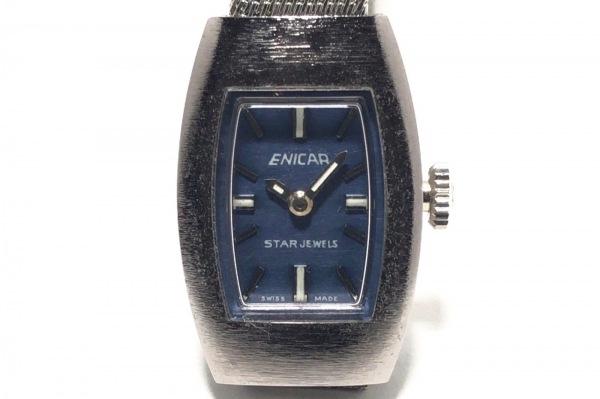 ENICAR(エニカ) 腕時計 666-01-01 レディース ネイビー