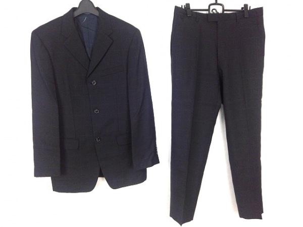 コムサコレクション シングルスーツ サイズ3 L メンズ ダークネイビー