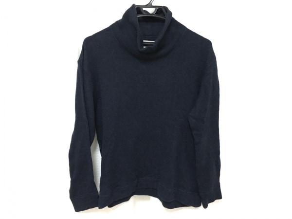 ホワイトマウンテニアリング 長袖セーター サイズ0 XS メンズ美品  ネイビー
