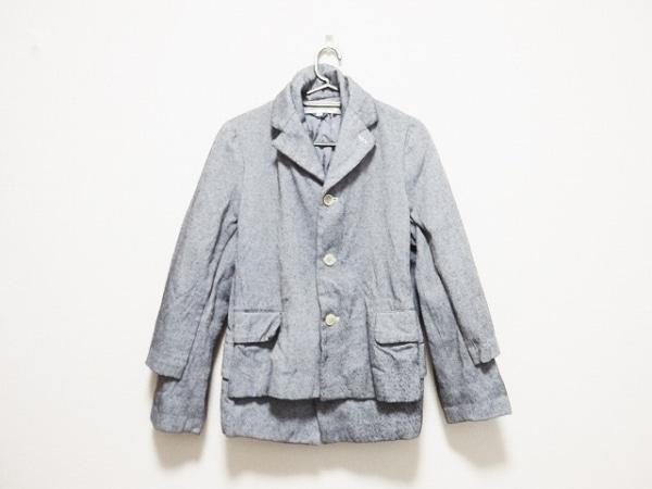 コムデギャルソン コムデギャルソン コート サイズM レディース美品  黒×白