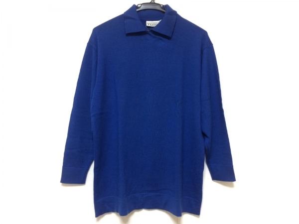 GIANFRANCO FERRE(ジャンフランコフェレ) 長袖セーター サイズ42 M レディース ブルー